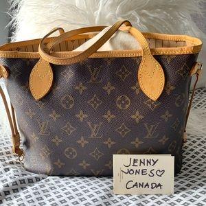 Louis Vuitton Monogram Neverfull PM Shoulder Bag